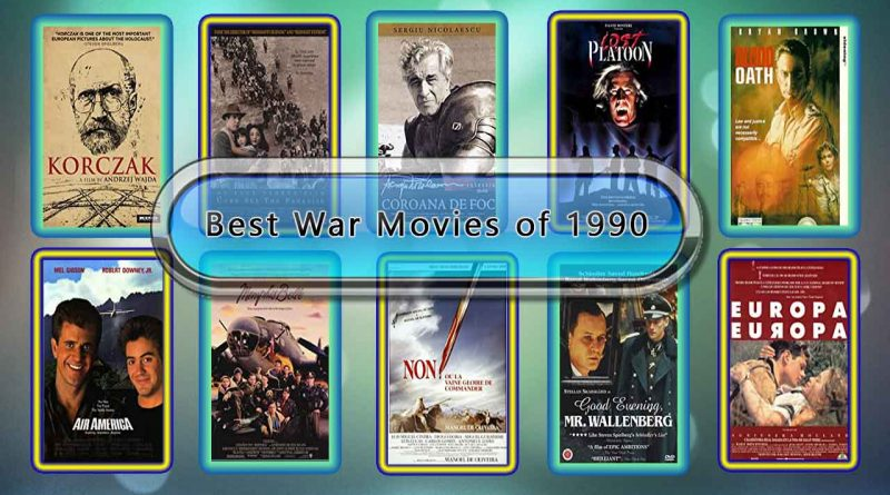 Best War Movies of 1990: Unwrapped Official Best 1990 War Films