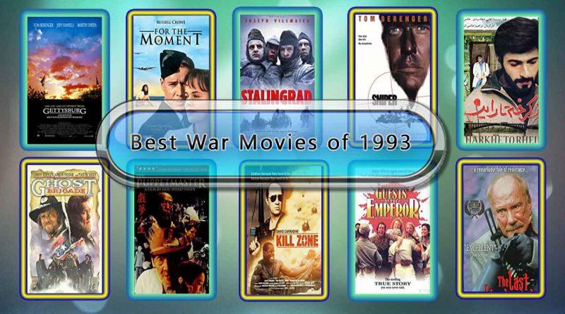 Best War Movies of 1993: Unwrapped Official Best 1993 War Films