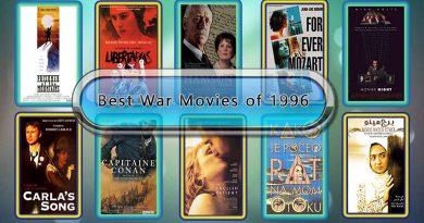 Best War Movies of 1996: Unwrapped Official Best 1996 War Films