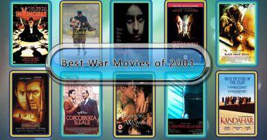 Best War Movies of 2001: Unwrapped Official Best 2001 War Films
