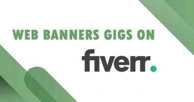 Best Web Banners on Fiverr