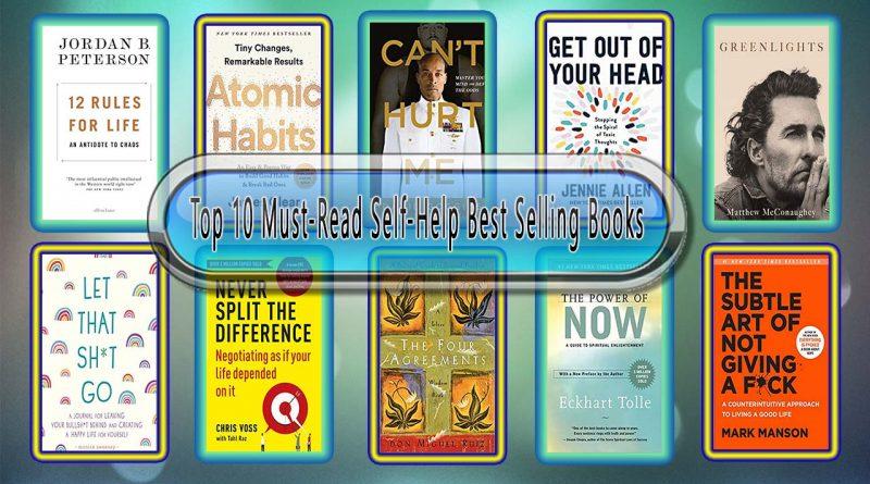 Top 10 Must-Read Self-Help Best Selling Books