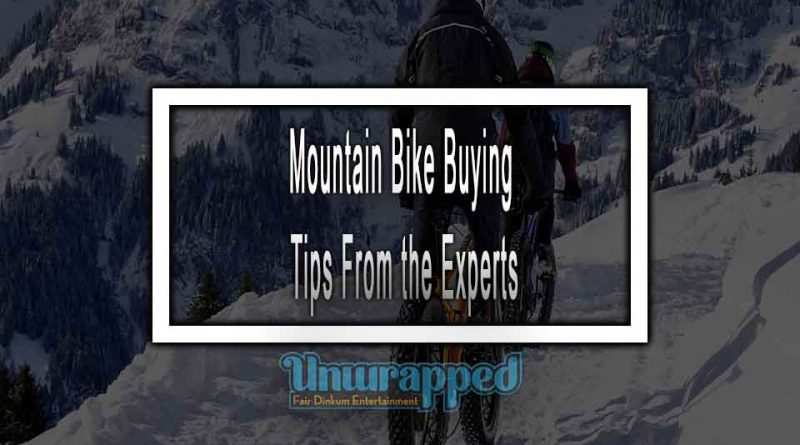 Mountain Bike Buying Tips From the Experts