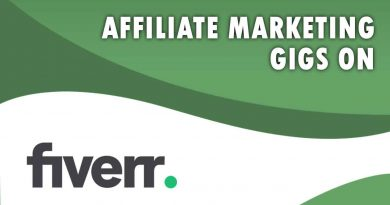 The Best Affiliate Marketing on Fiverr