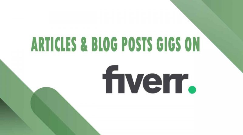 The Best Articles & Blog Posts on Fiverr