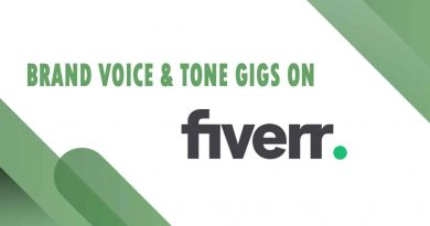 The Best Brand Voice & Tone on Fiverr