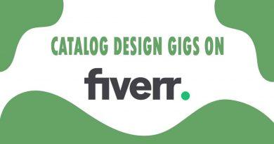 The Best Catalog Design on Fiverr