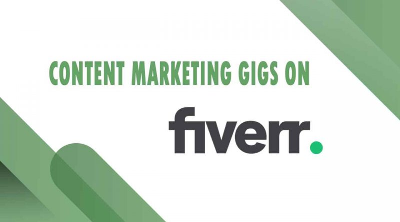 The Best Content Marketing on Fiverr