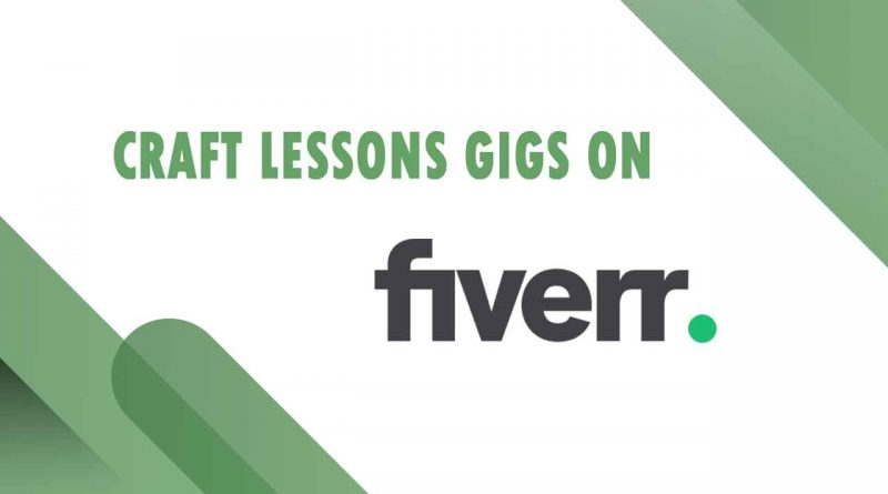 The Best Craft Lessons on Fiverr