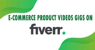 The Best E-Commerce Product Videos on Fiverr