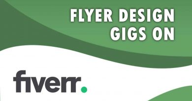 The Best Flyer Design on Fiverr