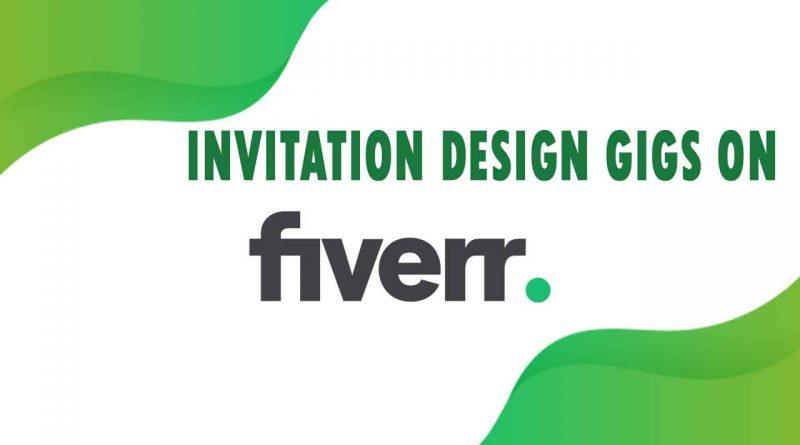 The Best Invitation Design on Fiverr