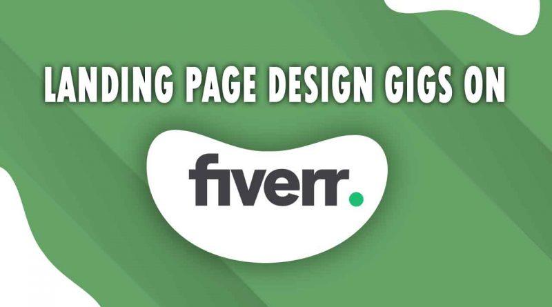 The Best Landing Page Design on Fiverr