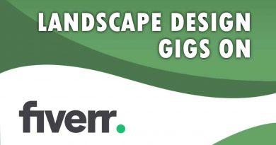 The Best Landscape Design on Fiverr
