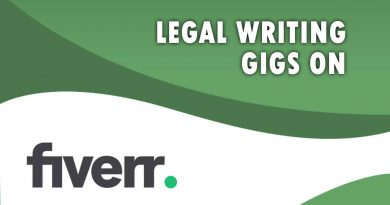 The Best Legal Writing on Fiverr