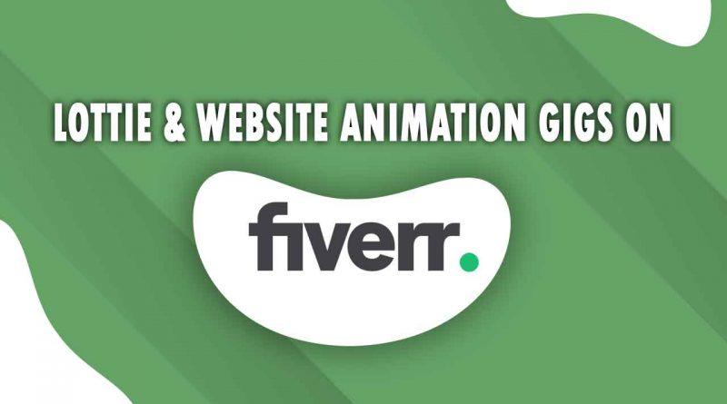 The Best Lottie & Website Animation on Fiverr