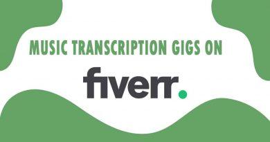 The Best Music Transcription on Fiverr