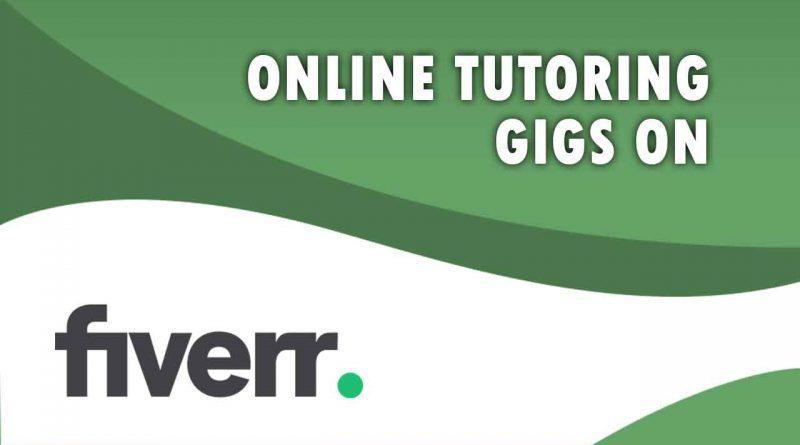 The Best Online Tutoring on Fiverr
