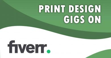 The Best Print Design on Fiverr