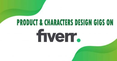 The Best Product & Characters Design on Fiverr