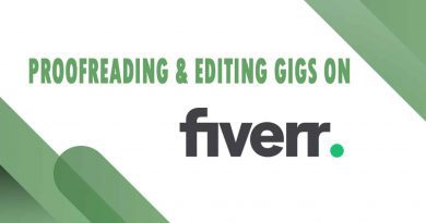 The Best Proofreading & Editing on Fiverr