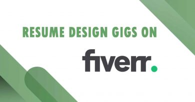 The Best Resume Design on Fiverr
