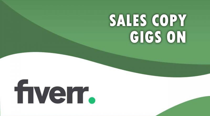 The Best Sales Copy on Fiverr
