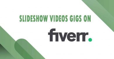 The Best Slideshow Videos on Fiverr