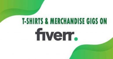 The Best T-Shirts & Merchandise on Fiverr