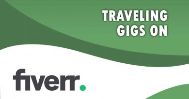 The Best Traveling on Fiverr