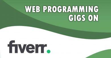 The Best Web Programming on Fiverr