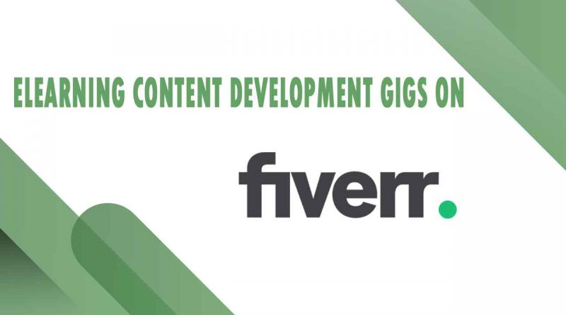 The Best eLearning Content Development on Fiverr