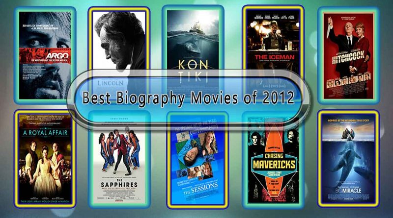 Best Biography Movies of 2012: Unwrapped Official Best 2012 Biography Films