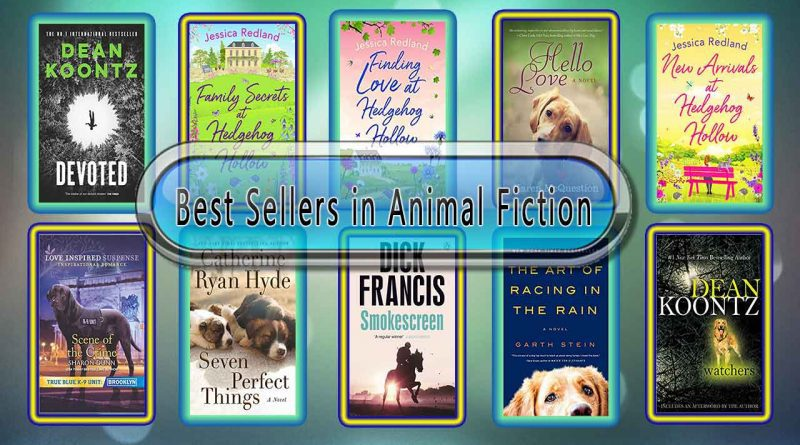 Top 10 Must Read Animal Fiction Best Selling Novels