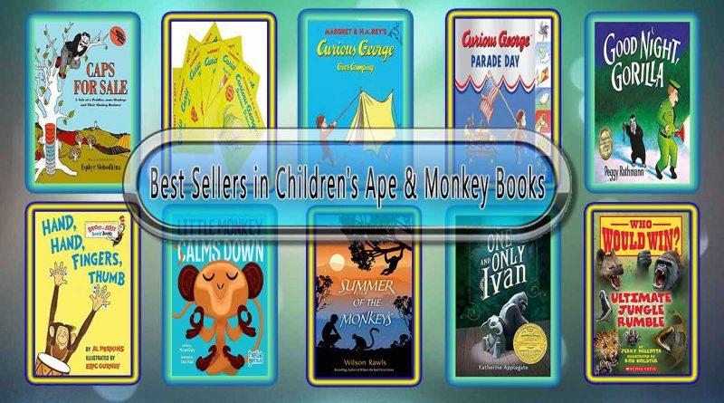 Top 10 Must Read Ape & Monkey Best Selling Kids Novels