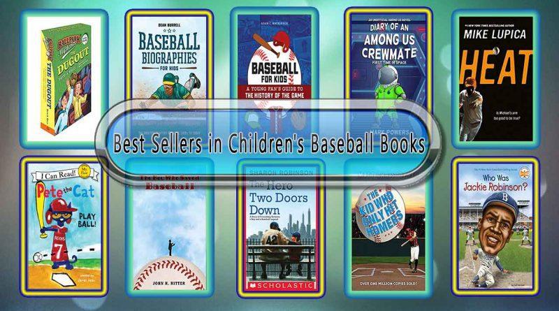 Top 10 Must Read Baseball Best Selling Kids Novels