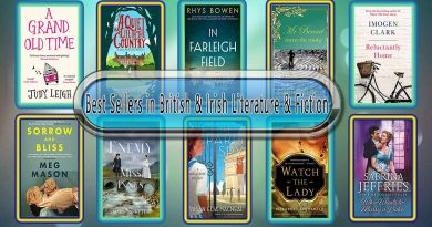 Top 10 Must Read British & Irish Best Selling Novels