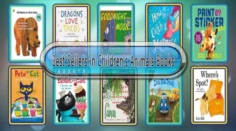 Top 10 Must Read Children's Animals Best Selling Kids Novels