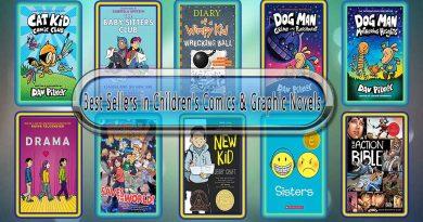 Top 10 Must Read Comics & Graphic Best Selling Kids Novels