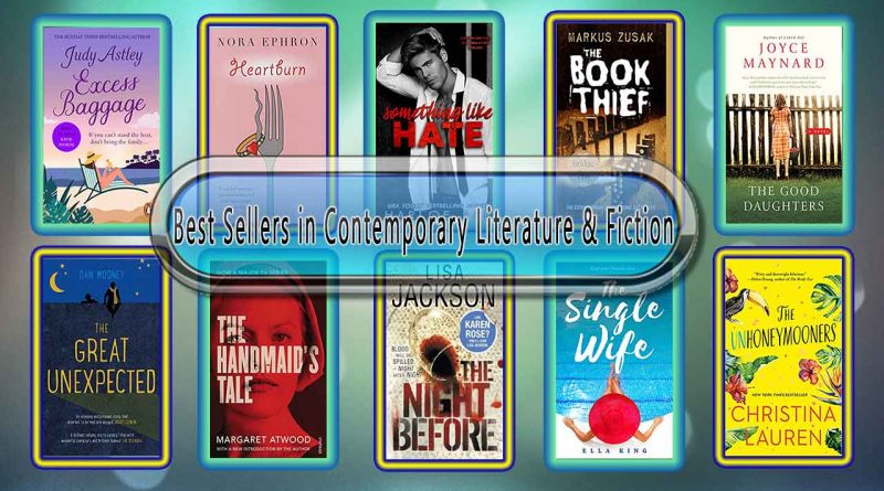 Top 10 Must Read Contemporary Best Selling Novels