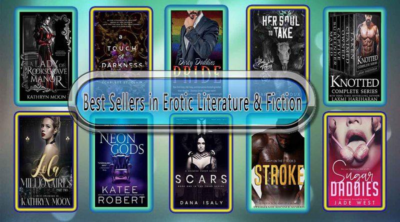 Top 10 Must Read Erotic Best Selling Novels