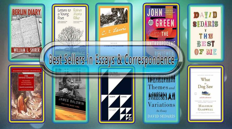 Top 10 Must Read Essays & Correspondence Best Selling Novels