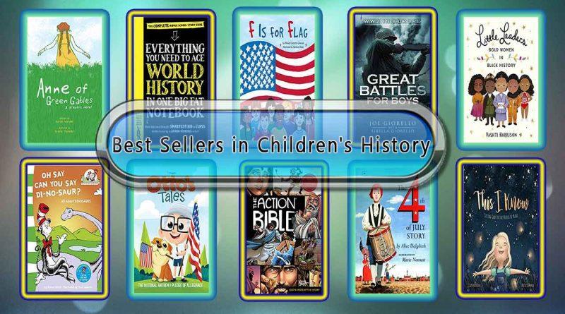 Top 10 Must Read History Best Selling Kids Novels