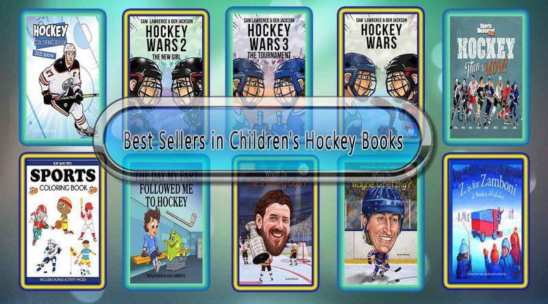 Top 10 Must Read Hockey Best Selling Kids Novels