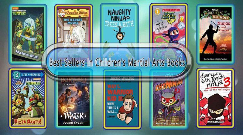 Top 10 Must Read Martial Arts Best Selling Kids Novels