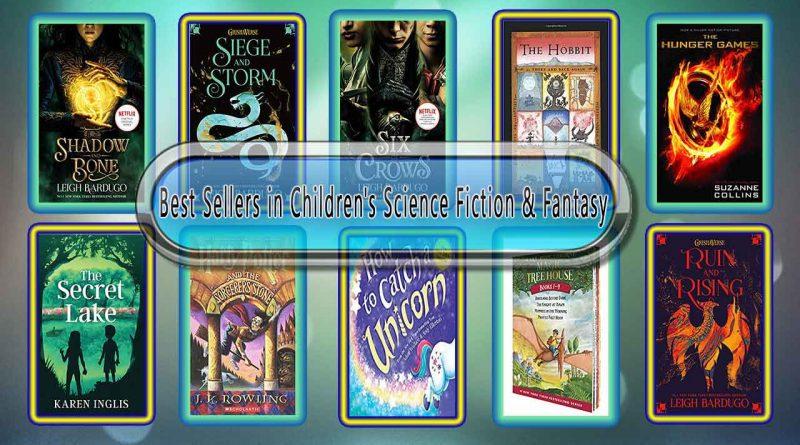Top 10 Must Read Science Fiction & Fantasy Best Selling Kids Novels