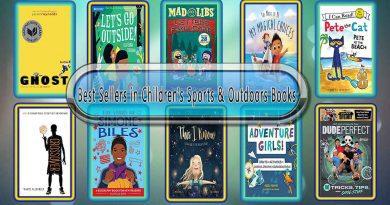 Top 10 Must Read Sports & Outdoors Best Selling Kids Novels