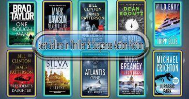 Top 10 Must Read Thriller & Suspense Best Selling Novels