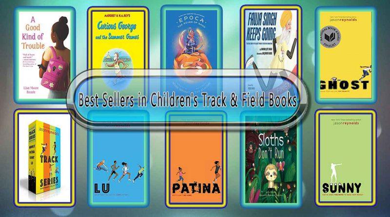 Top 10 Must Read Track & Field Best Selling Kids Novels