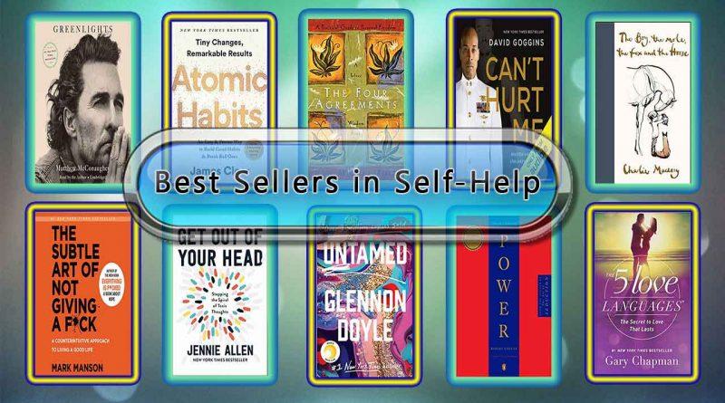 Top 10 Must Read Self-Help Best Selling Books